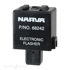 ELEC. FLASHER 12V 3 PIN BL