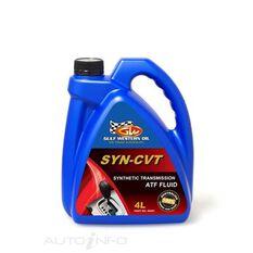 CARTON QTY 4 SYN-CVT FLUID FULL SYN 4L, , scaau_hi-res