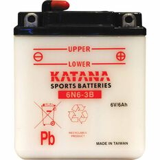 KATANA MOTORCYCLE BATTERY - 6N6-3B-1, , scaau_hi-res