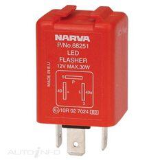 ELEC FLASHER 12V 3 PIN LED(BL), , scaau_hi-res