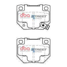 DBA SS STREET SERIES BRAKE PADS [ Nissan & Subaru 1989-2007 R ], , scaau_hi-res