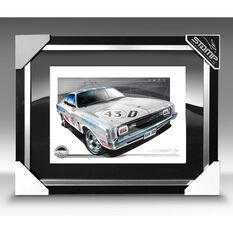 A3 SIZE - 1971 VALIANT R/T E38 CHARGER GEOGHEGAN / BROWN (B033), , scaau_hi-res