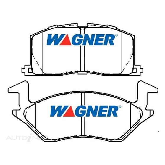 Wagner Brake pad [ Toyota Starlet NP80 1.5L [ SEA ] 1990-2014 F ], , scaau_hi-res