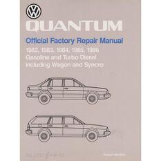 REPMAN  VW QUANTAM (GAS&TURB DIES INC WAGON&SYNCRO) 1982-1986 9780837603568