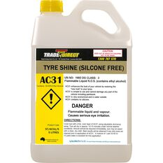 Tyre Shine (Non Silicone Water Based) - 5L Bottle