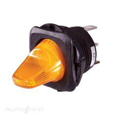 PLASTIC DUCKBILL LED AMBER BL1, , scaau_hi-res