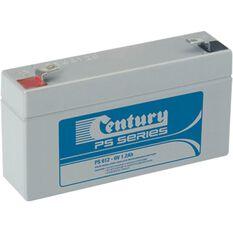 PS612 (6V, 1.2AH) VRLA Battery