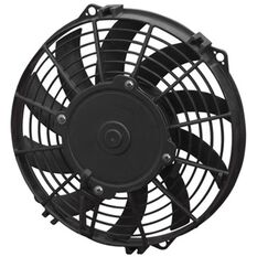 "12"" ELECTRIC THERMO FAN CURVED BLADES - PULLER TYPE"