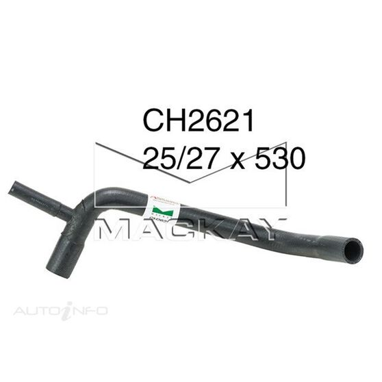 Radiator Lower Hose  - AUSTIN HEALEY SPRITE MK1 - 0.9L I4  PETROL - Manual & Auto, , scaau_hi-res