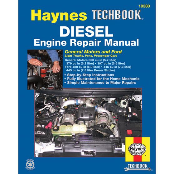 DIESEL ENGINE REPAIR HAYNES TECHBOOK, , scaau_hi-res