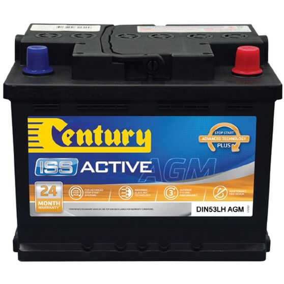 DIN53LH MF Century AGM Battery, , scaau_hi-res
