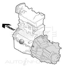 BMW 525D 5 SERIES E60 (2003-) ENGINE MOUNTING, , scaau_hi-res