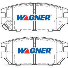 Wagner Brake pad [ Mitsubishi 1991-2005 R ]