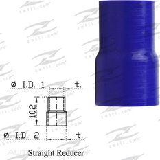 BLUE SILICONE REDUCER 2 1/2 - 3, , scaau_hi-res