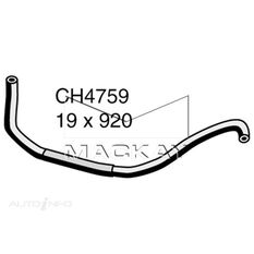 Heater Hose  - NISSAN NAVARA D40 - 2.5L I4 Turbo DIESEL - Manual & Auto, , scaau_hi-res