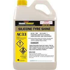 Silicone Tyre Shine - 5L Fluorinated Bottle, , scaau_hi-res