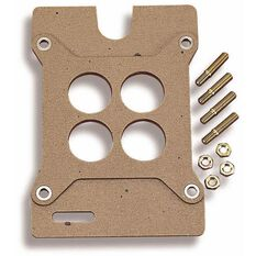 HOLLEY BASE GASKET & STUDS SUIT 4BBL SQUARE BORE, , scaau_hi-res