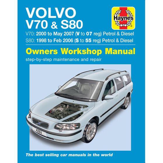 VOLVO V70 / S80 PETROL & DIESEL (1998 - 2007), , scaau_hi-res