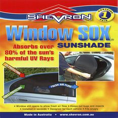 NISSAN PATROL GUY61 4WD WAGON 11/97-ON WINDOW SOX