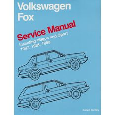 SERVMAN  VW FOX (INC WAGON&SPORT) 1987-1989   9780837603612
