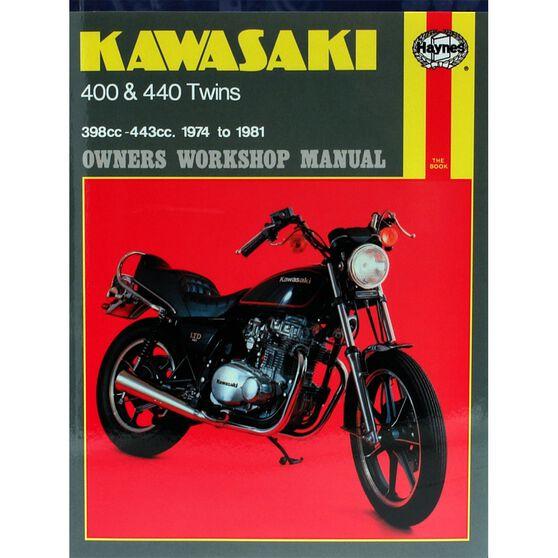 KAWASAKI 400 & 440 TWINS 1974 - 1981, , scaau_hi-res