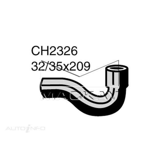 Radiator Upper Hose  - NISSAN BLUEBIRD U14 - 1.8L I4  PETROL - Manual & Auto, , scaau_hi-res
