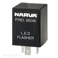 ELEC. FLASHER 12V 3PIN LED T1, , scaau_hi-res