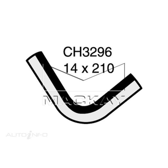 Heater Hose  - FORD TRANSIT VG - 2.0L I4  PETROL - Manual & Auto, , scaau_hi-res