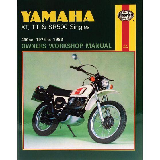 YAMAHA XT, TT & SR500 SINGLES 1975 - 1983, , scaau_hi-res
