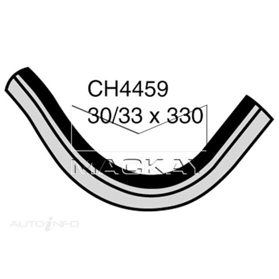 Bottom Hose VOLVO 240  B20,B21, B23 with intercooler*, , scaau_hi-res