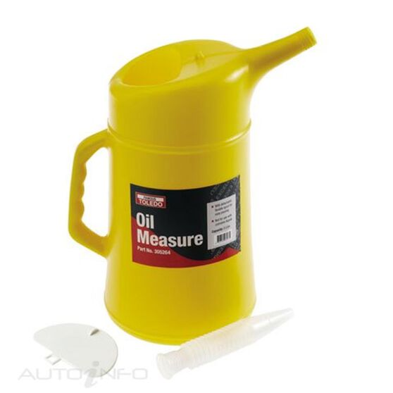 TOLEDO OIL MEASURE 5L WITH FLEX SPOUT, , scaau_hi-res