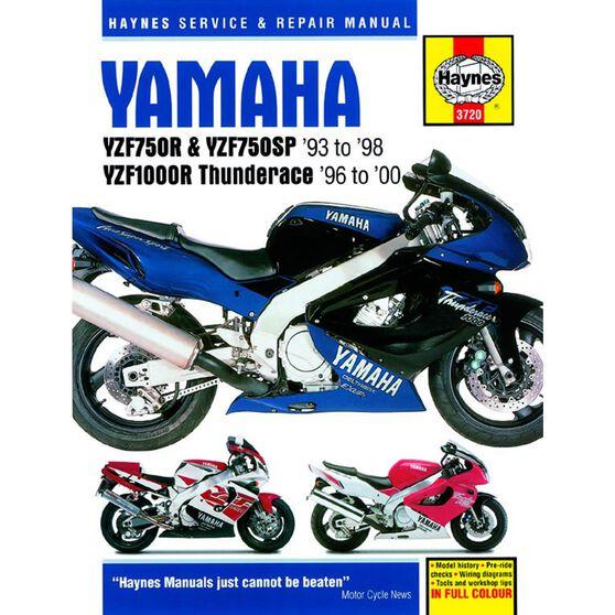 YAMAHA YZF750R & YZF1000R THUNDERACE 1993 - 2000, , scaau_hi-res