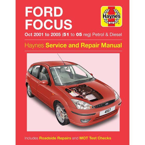 FORD FOCUS PETROL & DIESEL (2001 - 2005), , scaau_hi-res