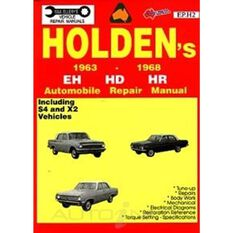 REPMAN  HOLDEN EH HD HR 1963-1968    9780958727822, , scaau_hi-res