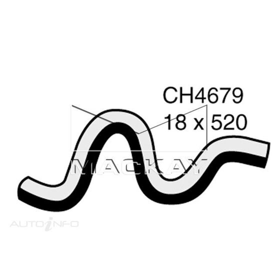 Heater Hose  - HYUNDAI SONATA NF - 2.4L I4  PETROL - Manual & Auto, , scaau_hi-res