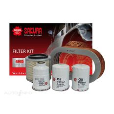 FILTER KIT OIL AIR FUEL NISSAN, , scaau_hi-res