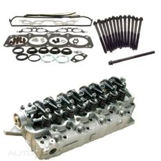 ENGINE - CYLINDER HEAD KITS KIT CONTAINS VRS, HEAD GASKET AND HEAD BOLT SET 4D56T, , scaau_hi-res