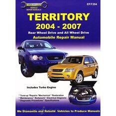 REPMAN  FORD TERRITORY 2004 -2007    9781876720209, , scaau_hi-res