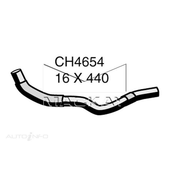 Heater Hose  - TOYOTA KLUGER MCU28R - 3.3L V6  PETROL - Manual & Auto, , scaau_hi-res