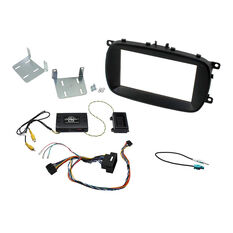 INSTALL KIT TO SUIT FIAT 500X (BLACK), , scaau_hi-res