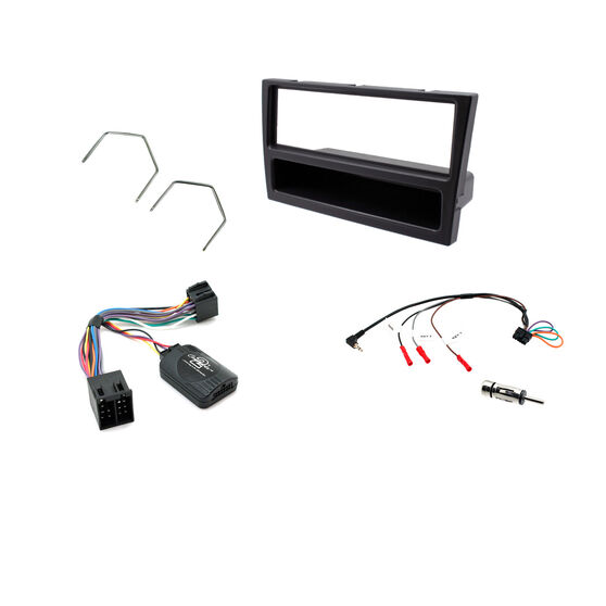 INSTALL KIT TO SUIT HOLDEN VECTRA ZC (BLACK), , scaau_hi-res