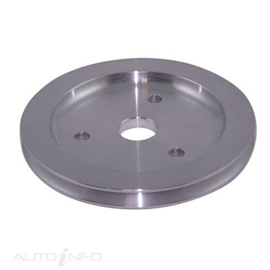 ALLOY PULLEY S/B CHEV 1 GROOVE CRANK, , scaau_hi-res