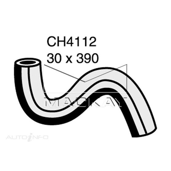 Radiator Upper Hose  - TOYOTA YARIS NCP93R - 1.5L I4  PETROL - Manual & Auto, , scaau_hi-res