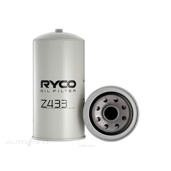 RYCO OIL FILTER - Z433, , scaau_hi-res