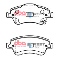 DBA SS STREET SERIES BRAKE PADS [ Toyota Auris 2006 - On F ], , scaau_hi-res