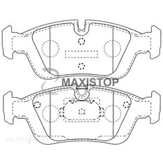 MAXISTOP DBP (F) BMW 3 SERIES (E36, E46), Z3 (E36), Z4 (E85) (DB1833K)