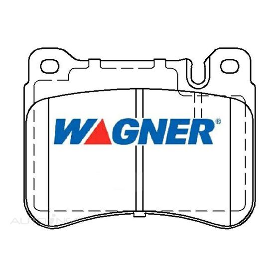 Wagner Brake pad [ Jaguar / Mercedes 2001 - 2008 F ], , scaau_hi-res