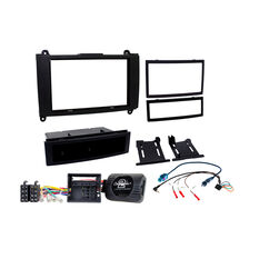 INSTALL KIT TO SUIT MERCEDES SPRINTER (BLACK), , scaau_hi-res