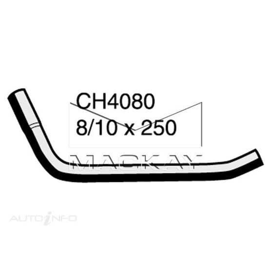 Cooling Feed Hose MERCEDES - BENZ VITO 108D 2.3 Diesel OM601D23  Inlet No2*, , scaau_hi-res