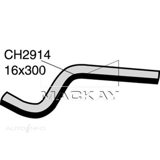 Heater Hose Rear - NISSAN URVAN E24 - 2.4L I4  PETROL - Manual & Auto, , scaau_hi-res